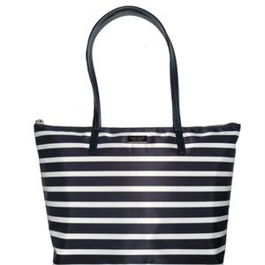 NEW Kate Spade Hayden Sailing stripe tote bag